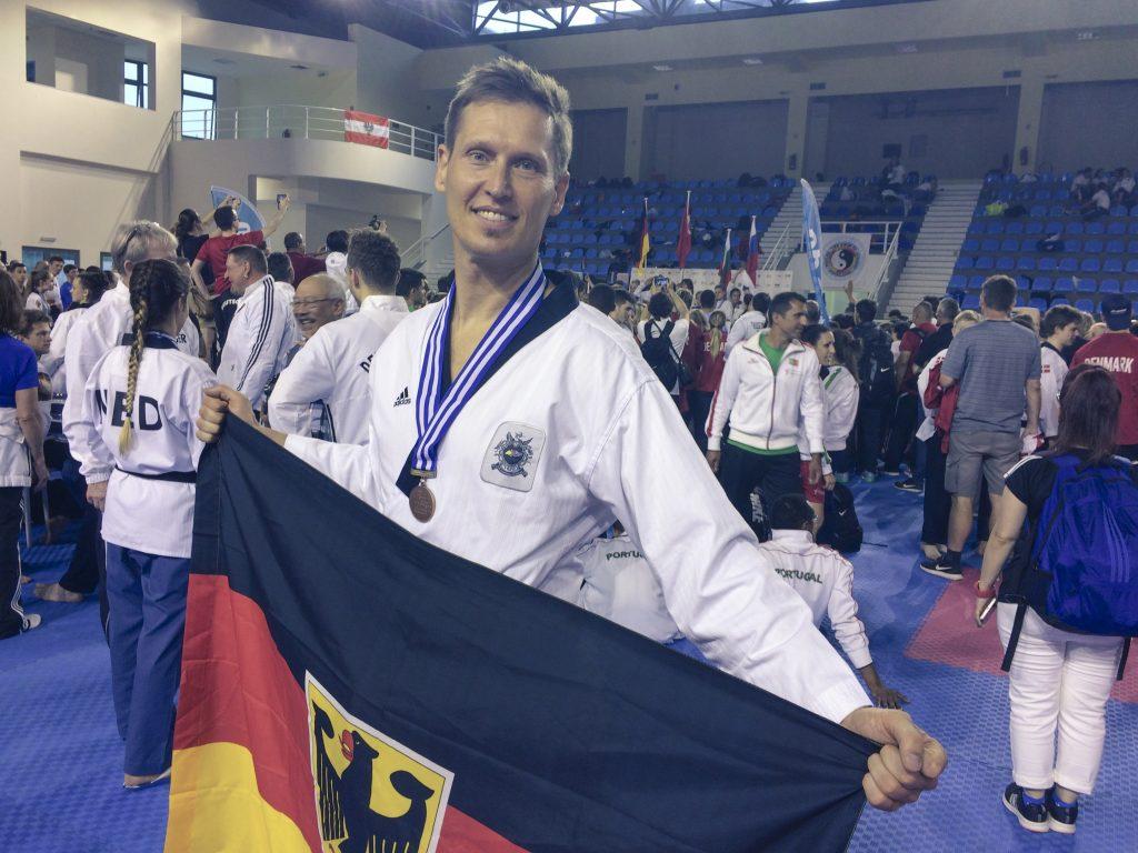 Christian Senft Bronze Medallie EM Poomsae Rhodos