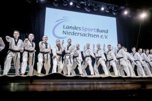 Auftritt beim Tag der Niedersachsen 2017 in Wolfsburg. Foto: Tim Grondstein